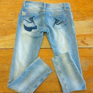ReRock for Express skinny jeans size 4.
